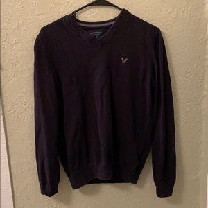 AE navy blue sweater
